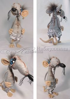 """Купить мастер-класс """"Крысик"""" - мастер-класс, описание работы, крыс, крыса, прикольная игрушка"""