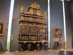 Marqueterie Boulle: Armoire
