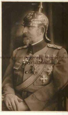 Ferdinand I (Ferdinand Viktor Albert Meinrad; 24 August 1865 – 20 July was King of Romania from 10 October 1914 until his death in Romanian Royal Family, Ferdinand, Serial Killers, Eastern Europe, Royalty, King, Statue, Descendants, Civilization