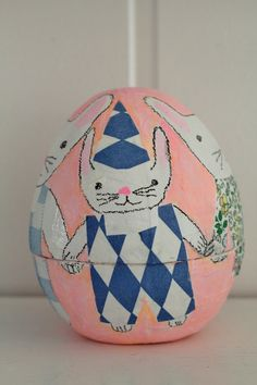 Kari Anne Marstein's new batch of handpainted easter eggs are in her etsy shop