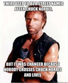 Chuck Norris Jokes | follow me and I'll follow u right back!
