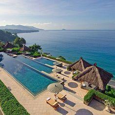 Amankila resort, bali