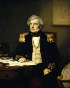 Posthumous Portrait of Sir James Clark Ross - Stephen Pearce (1871)