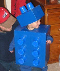 Lego block costume | Cheap and Easy DIY Kids' Halloween Costumes | LearnVest