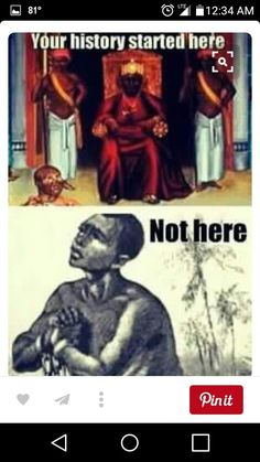 You're history started here! Know Where Your Ancestors Came From, Free Your Mind of Mental Slavery Black History Facts, Black History Month, Black Art Pictures, By Any Means Necessary, Black Pride, My Black Is Beautiful, Beautiful Images, We Are The World, African American History