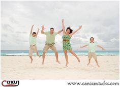 It's #FRIDAY .... do your Happy Dance and #jump into the #weekend! #CancunPhotographer #CancunBeach