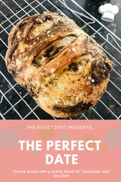 Here's a fun and yummy twist to crusty bread - it's the perfect blend, and perfect date of chocolate and bread! Enjoy xo Christina