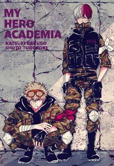 TodoBaku / BakuTodo / Todoroki Shouto / Bakugou Katsuki / Boku no hero académia Boku No Academia, My Hero Academia Shouto, My Hero Academia Episodes, Hero Academia Characters, Anime Characters, Cute Anime Guys, Anime Boys, Bakugou And Uraraka, Bakugou Manga