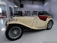 DANIEL SCHMITT & CO. PRESENTS: 1946 MG TC Roadster - Visit www.schmitt.com or call 314-291-7000 for more details!