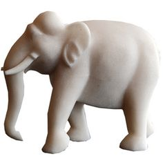 Marble Elephant. For the window sill of the bedroom...a dash of good luck.#DreamRobshaw