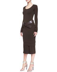 Donna Karan Dress & Belt