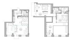 4 Duplex Lofts With Massive Windows