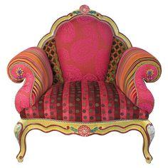 'MacKenzie-Childs Chair'