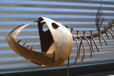 Garden Art / Fish Sculpture by johndupree on Etsy, $500.00