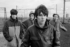 See The Stone Roses pictures, photo shoots, and listen online to the latest music. Music X, Indie Music, Music Bands, Stone Roses, Alternative Rock Bands, Alternative Music, Best Indie Rock Bands, Forever Rose, Acid House