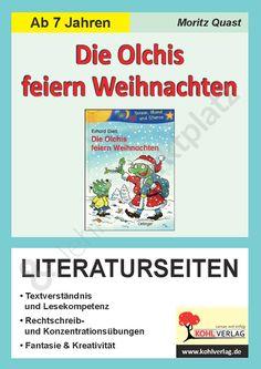 Die Olchis feiern Weihnachten / Literaturseiten - Seite 1