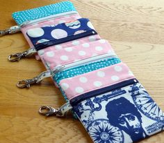 Blog - Holiday Coin Purse Tutorial Fabric Yard