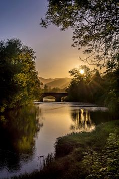 River Teith at Callander - Stirling, Scotland