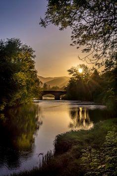 River Teith at Callander - Stirling, Scotland