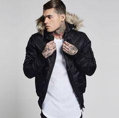 Model Stephen James for Sik Silk Clothing