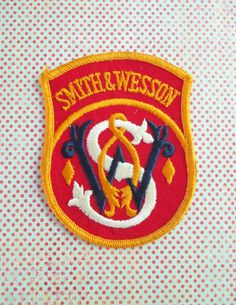 Vintage Smith & Wesson Patch by 5and10vintage on Etsy