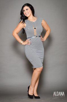 Vestido de #rayas #aldanaboutique