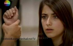 (Emir pulls Feriha by the arm.....) Emir: What did you say to Cansu? Feriha: Go and ask her. Emir: You stole everything of hers, right? Her home, her family, and I lost everything .. do you remember all of this? Feriha: You do not understand anything! (Feriha tries to go but Emir prevents .) Emir: You hate her because she shamed you at your poor sad game. It was like a piece of cake in your hand, and you lost me because of it!! (Feriha raises her hand to slap Emir but he captures hand) Emir…