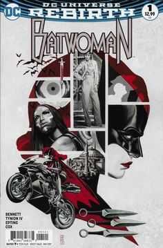 DC Universe Rebirth Batwoman comic issue 1 Limited variant