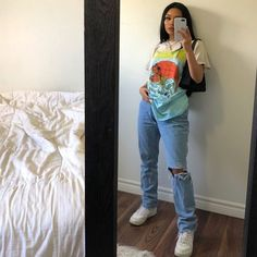 Indie Outfits, Teen Fashion Outfits, Retro Outfits, Cute Casual Outfits, Vintage Outfits, Summer Outfits, Women's Casual, Fashion Dresses, Tomboy Fashion