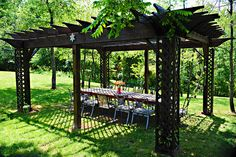 Awesome Outdoor Pergola by TheArtfulHome.biz Pergola_The_Artful_Home002, via Flickr.      I KNOW THE GUY WHO BUILT THIS IF ANYONE IS INTERESTED.. just say'in