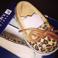 Baby Leopard print shoes