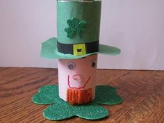 Cool project from www.kiwicrate.com/diy: Leprechaun St. Patrick's Day Craft