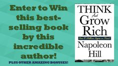 Win a FREE Copy of Think and Grow Rich by Napoleon Hill (Plus other stuff!)