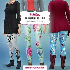 ELR Sims: Flower Leggings • Sims 4 Downloads