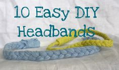 10 Easy DIY Headbands