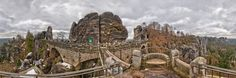 Germany: Bastei Panoramic Photography, Monument Valley, Mount Rushmore, Germany, Mountains, Places, Nature, Travel, Naturaleza