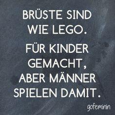 Noch mehr witzige Sprüche und unseren Spruch des Tages findest du auf gofeminin.de!