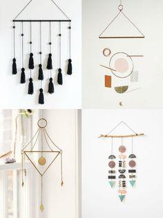 www.mayandfay.com: minimalist wallhanging inspiration