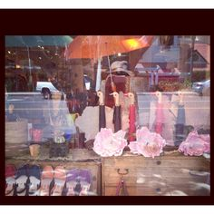 """my mother's window display, """" all your ducks in a row"""""""