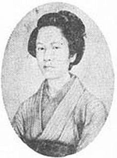 # 14: фотография Takeko Накано (Roshigun)  из клана Айдзу (кажется, одна из воительниц)