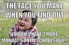 1 more Monday yay Back To School Quotes For Teachers, Teacher Humour, Classroom Humor, Teaching Memes, Teacher Problems, Michaela, Teacher Inspiration, School Memes, Work Humor