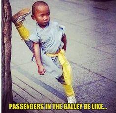 Bahahahahahahahahahahhahahhaa!! Especially on a 45min flight!  ✈️✈️✈️