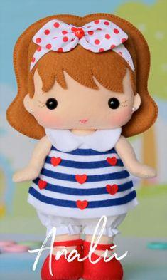3d Cakes, Felt Dolls, Diy Flowers, Beautiful Dolls, Puppets, Hello Kitty, Alice, Diy Crafts, Samara