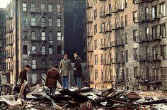 Camilo José Vergara fotografierte diese Jugendlichen im Jahr 1970 in New York
