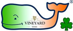 Vineyard Vines Irish Flag Whale
