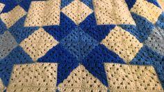 Quilt Star Crochet Blanket