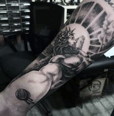 Resultado De Imagen Para Cristo Tattoo Brazo The Best Tattoos