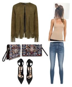 Suede and fringe by kinang on Polyvore featuring polyvore, fashion, style, ThePerfext, True Religion, Valentino, Hanky Panky and Barbara Bui