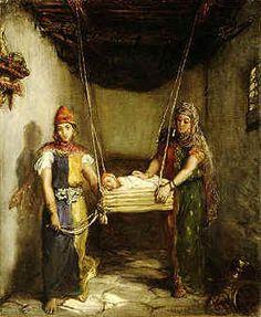 ATTENTION : peinture delacoix mais MAROC
