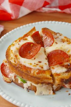 Pizza Grilled Cheese  - Delish.com